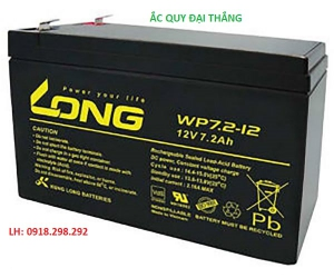 LONG WP 7.2-12 ( 12V - 7.2Ah)